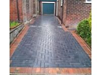 block paving indian stone paving materials and labour fencing &brickwork etc free estimate