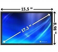 "Toshiba/hp/Samsung laptop 17"" replacement Lcd/led repair"