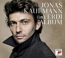 The Verdi Album - Deluxe Edition von Jonas Kaufmann (2013) Neu OVP