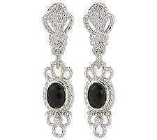 Judith Ripka Diamonique Earrings