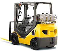 Forklift Counterbalance Operators Required
