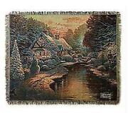 Thomas Kinkade Throw