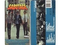 BEASTIE BOYS SABOTAGE 1994 PAL VHS in MINT CONDITION