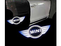 2 x MINI 3D COB LED DOOR LOGO COURTESY LIGHT LASER GHOST PROJECTOR SHADOW PUDDLE LAMPS