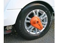 Nemesis Caravan Wheel Clamp