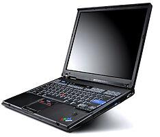 IBM / Lenovo T42p P4M 2.1 GHz 2GB 40 GB DVD/CDRW 15
