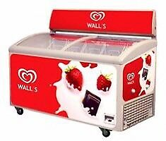 Ice cream freezer walls