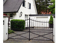 Wrought Iron Garden Gates, Driveway Gates & Metal Fencing