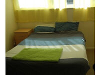 TODAY. Comfortable double room. Nice clean flat. Excellent location E16 Canning Town tube st.