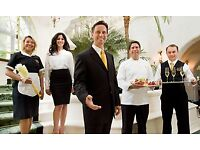 experienced waiter/waiters wanted urgently great pay & tips based in clapham junction full/part time