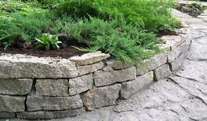 STACKED STONE: build your limestone retaining wall easily!