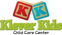 Klever Kids will soon be offering Infant & Afterschool spaces!