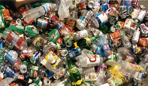 Please donate unwated bottles and cans