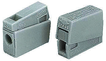WAGO - 224-112 - TERMINAL BLOCK, PLUGGABLE, 1 POSITION, 16AWG,20PK