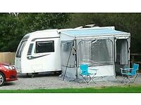 Fiamma caravanstore zip awning + privacy room