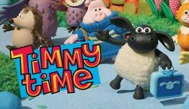 Timmy Time Toys Wanted.