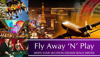 Vegas/Orlando vacation for 2 for $300 – Great deal