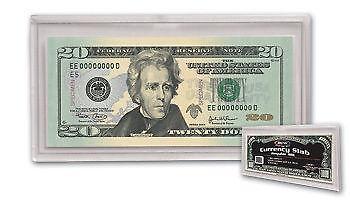 Acrylic Currency Holder Ebay