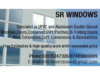 Double glazed windows and doors suppliers & instalation service