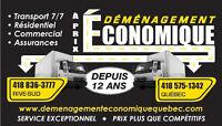 Déménagement à Prix Économique Québec