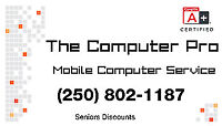 Mobile Computer Service and Repair IN HOME AND OFFICE