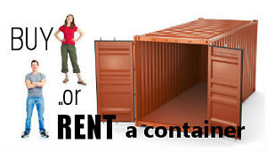 RENT A CONTAINER for less than you may think