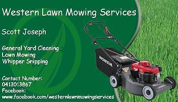 Western Lawn Mowing Services Werribee Wyndham Area Preview