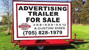 12X8  & 4X8 Advertising  mobile  trailer for sale,