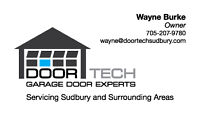 Doortech Sudbury expanding to Timmins(garage door specialists)