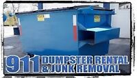 DUMPSTER AND DISPOSAL BIN SPECIAL FROM $99!!