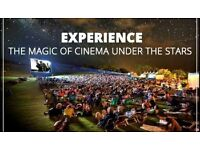 Business for sale - Outdoor cinema - All equipment and contracts £20k