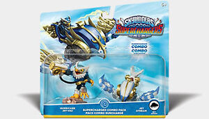 Skylanders Superchargers Combo -Hurricane JET-VAC and Jet Stream