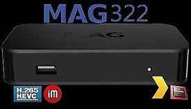 322/323 LATEST Linux Box ORIGINAL INFOMIR H265 (HEVC) / OPENBOX - 12 MTHS MANUFACTURER