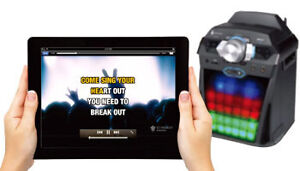KARAOKE BLUETOOTH SYSTEM+SPEAKER/3D LIGHTING($369)