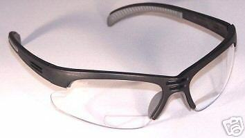 Hydras Bifocal Reading Ansi Z87 Safety Glasses Clear 1.5 - 3 Pairs  Free Ship