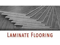 Laminate flooring fitting service.