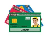 Both CSCS tests £95 -for SAME DAY CSCS card Tests & training &(1*day course)