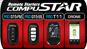 Compustar PRO Remote Car Start Packages