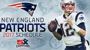 Patriots Fan?  See 1 or more  Home Regular Season Games