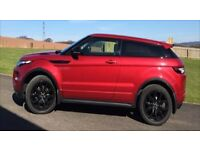 RANGEROVER EVOQUE Si4 2.0 Dynamic 4 x 4 Automatic - Red 3dr with Black Alloys - Panoramic roof