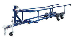 looking to buy a used scissor lift pontoon trailer 24ft