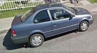 1998 Toyota Tercel Coupe (2 door)