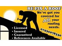 Roofing , Storm Damage , Leaks , All Roof work carried out call for a free estimate !
