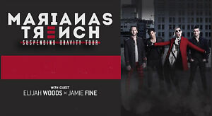 ✯✯ Marianas Trench Conexus Arts Centre, Regina SAT Mar 23 8PM✯✯