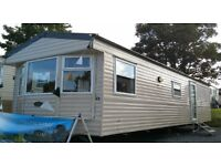 cheap static caravan for sale with 7 years left on park and price includes site fees until oct 2017