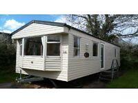 static caravan cheap for age on a beautiful 11 month site in goodrington south Devon TQ47JP