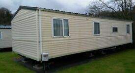 cheap static caravan for sale on a pet friendly park short walk to the beach 11 month season