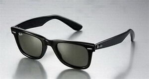 Raybans sunglasses -- new with case
