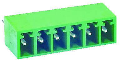 Multicomp-mcte-04a06-terminal Block Headervertical6 Position3.5mm10pk