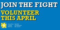 Volunteers Needed- Canadian Cancer Society